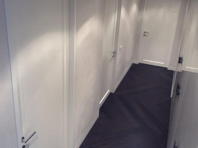 Porte laccate con cassa filo muro