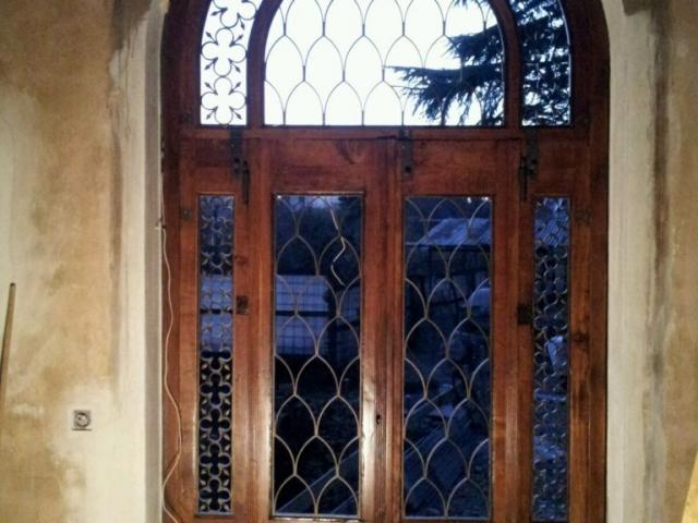 Restored main door