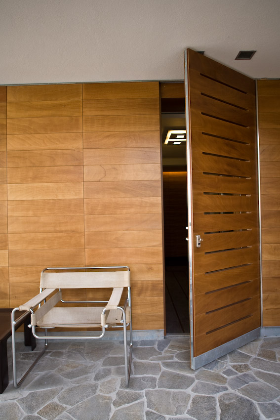External main door_okoumè