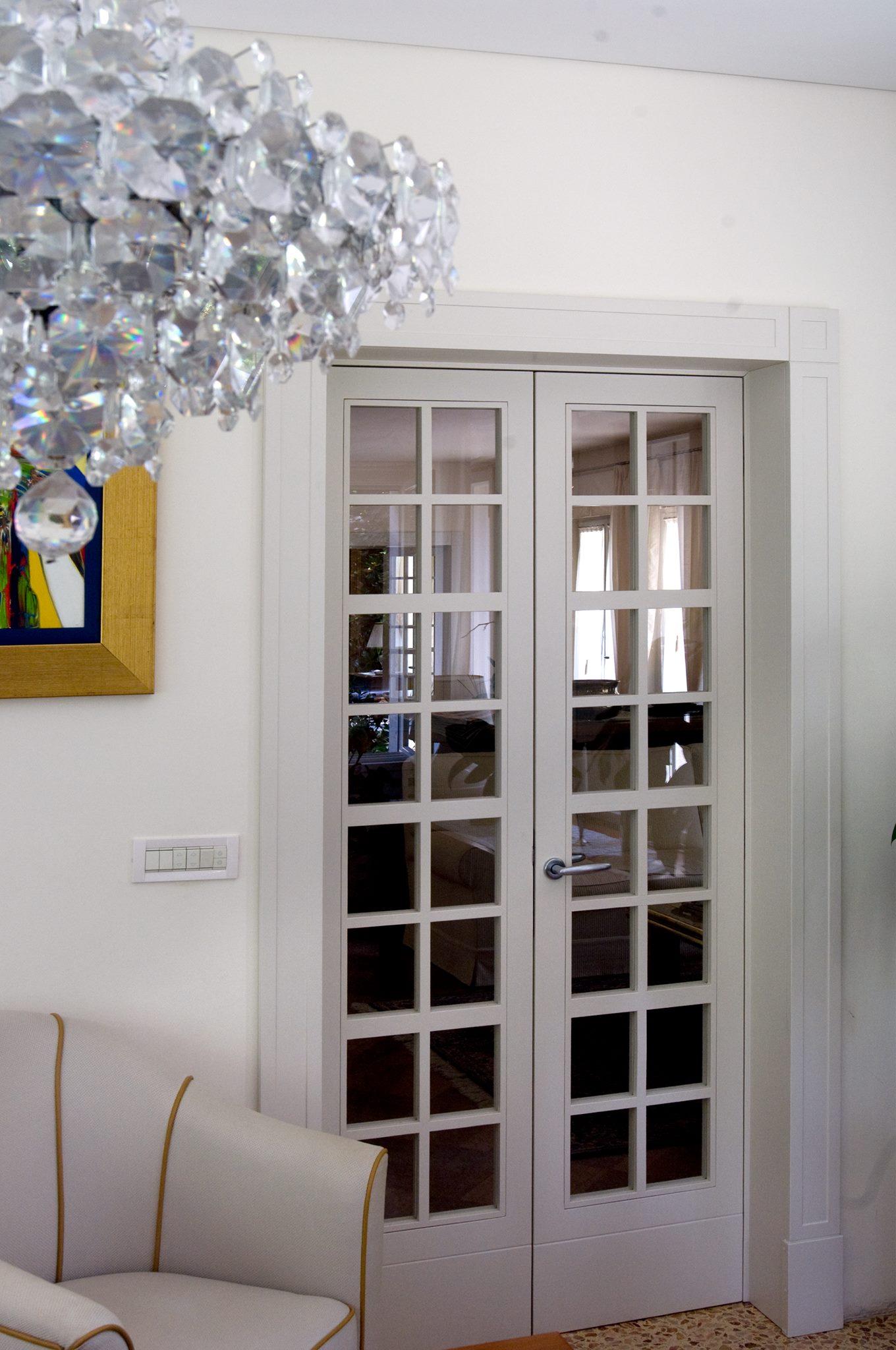 Lacquered door