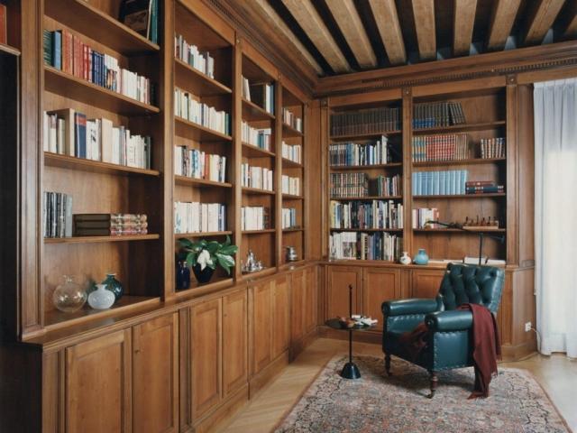 Libreria in noce nazionale