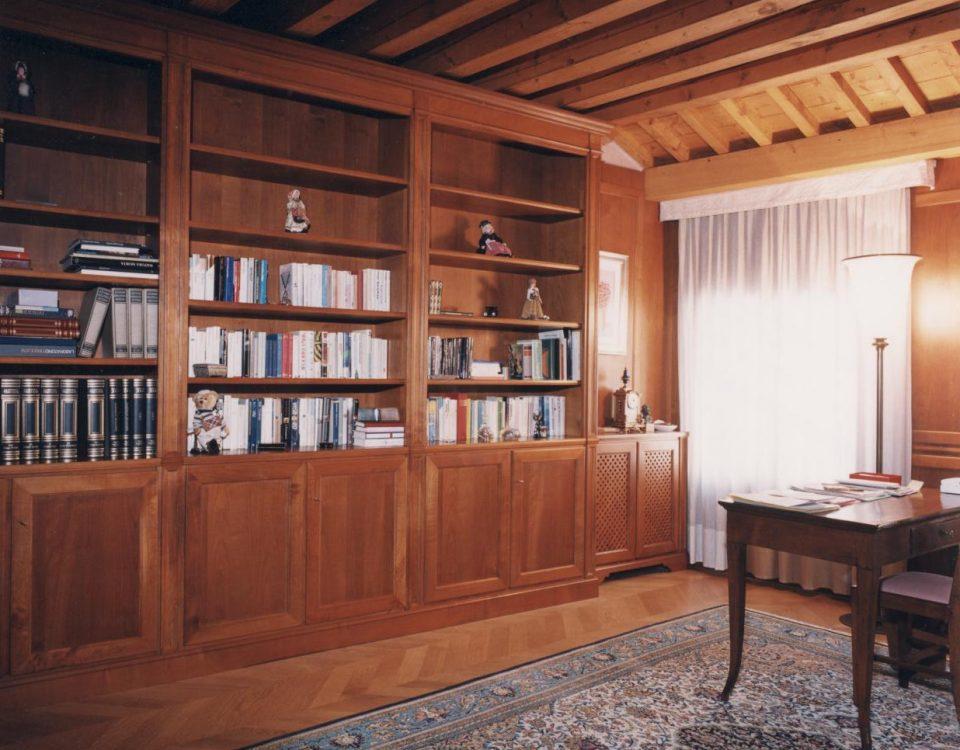 Libreria in noce nazionale finito a gommalacca2